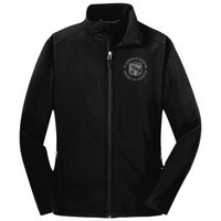 Ladies Core Soft Shell Jacket - Grey logo Thumbnail